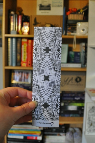 I realised after I had uploaded these tht the bookmarks are actually upside down.... Whoops!