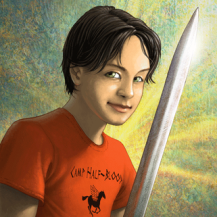 Old Artwork: Percy Jackson